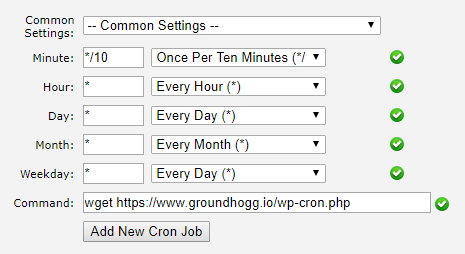 How To Setup The System Scheduler | Groundhogg Documentation